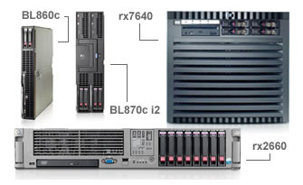 Click here for more details on HP Integrity Servers
