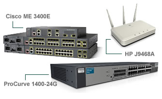 Click here for more Cisco Networking and HP ProCurve products